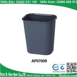 Thùng rác nhựa 24l giá rẻ phục vụ gia đình tại Hà Nội AF07009